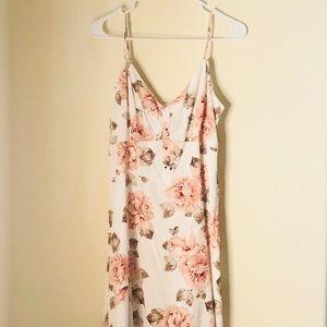 DYNAMITE Pink floral summer dress NWOT